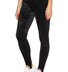 1.state 1. State Crushed Velvet Stirrup Leggings Sz XS