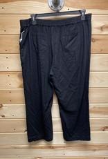 Caslon Caslon Linen Wide Leg Crop Pants Sz XL