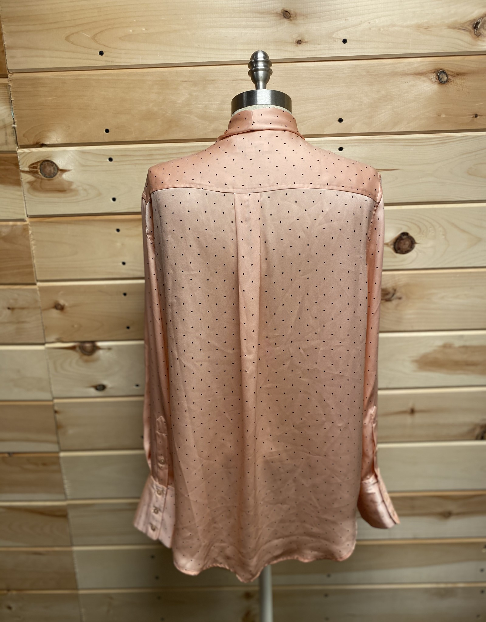 Equpiment Equipment Luis Tie Neck Blouse Sz XL