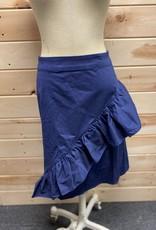 Elo Quii Wrap front ruffle hem skirt Size 14