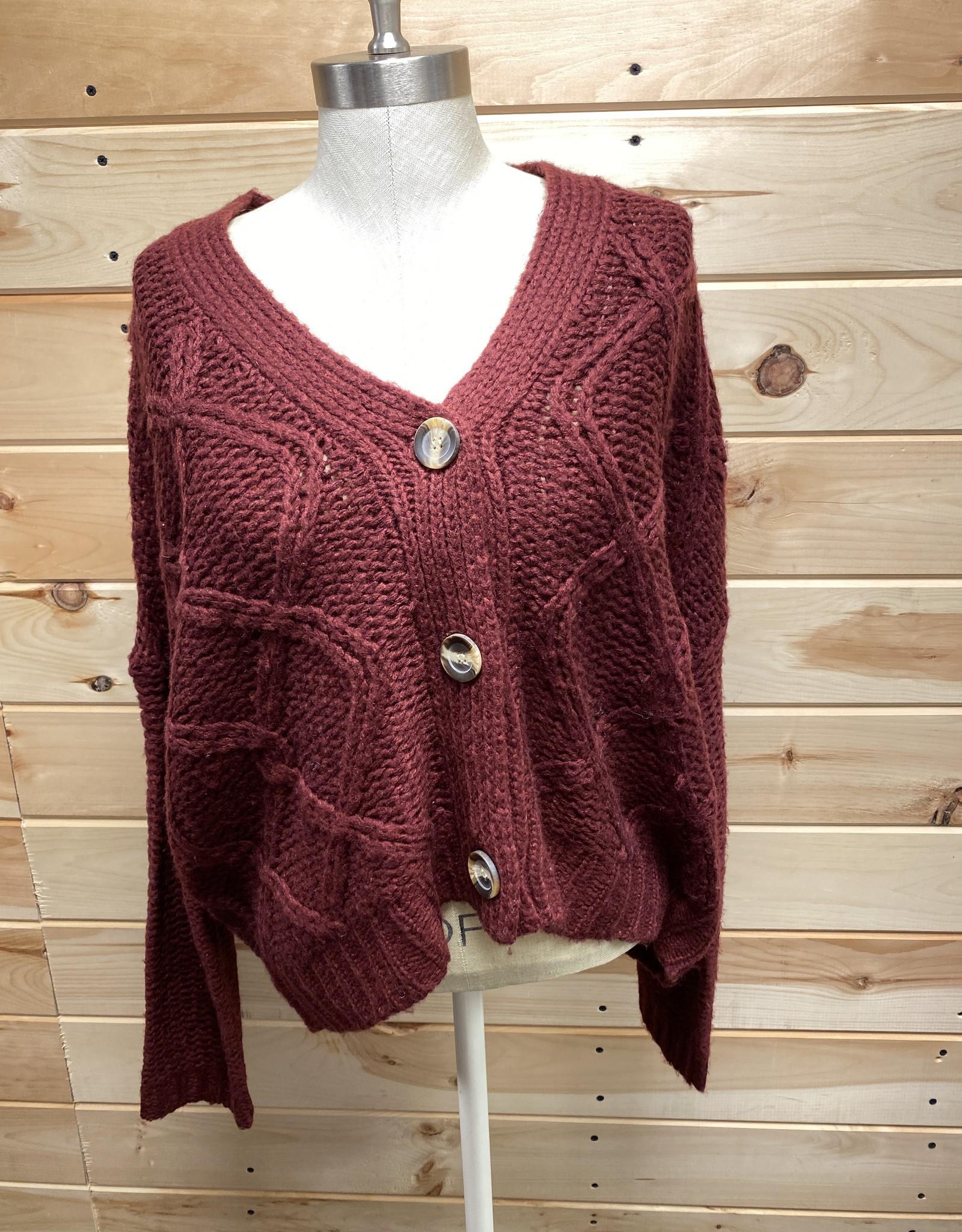 Rag Supply Rag Supply Cardigan Sweater Sz M