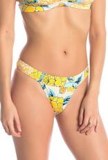 The Bikini Lab The Bikini Lab Spanish Bloom Hipster Bikini Bottoms Sz L