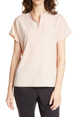 Eileen Fisher Eileen Fisher Madarin Collar Top Beige Sz L