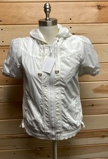 Juicy Couture Juicy Couture White S/S Windbreaker Size M