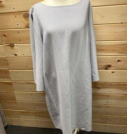 Lafayette 148 Lafayette 148 L/S Gray Midi Dress Sz XL