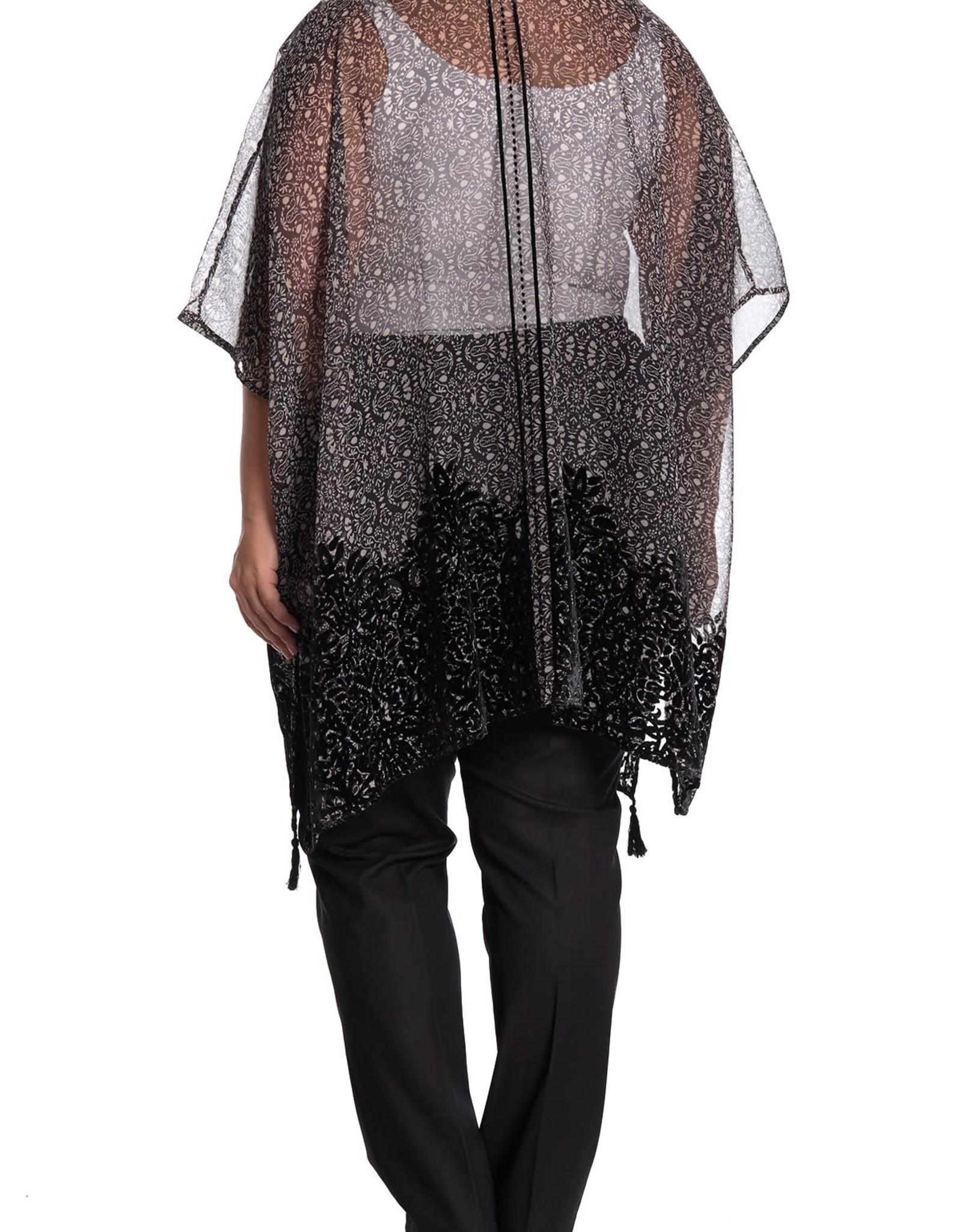 DR2 DR2 Velvet Burnout Kimono #425E-#427E