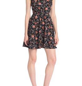Love Ady Love Ady Floral Print Skater Dress Sz S