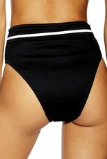 Topshop Topshop Black Belted Bottoms Sz 12