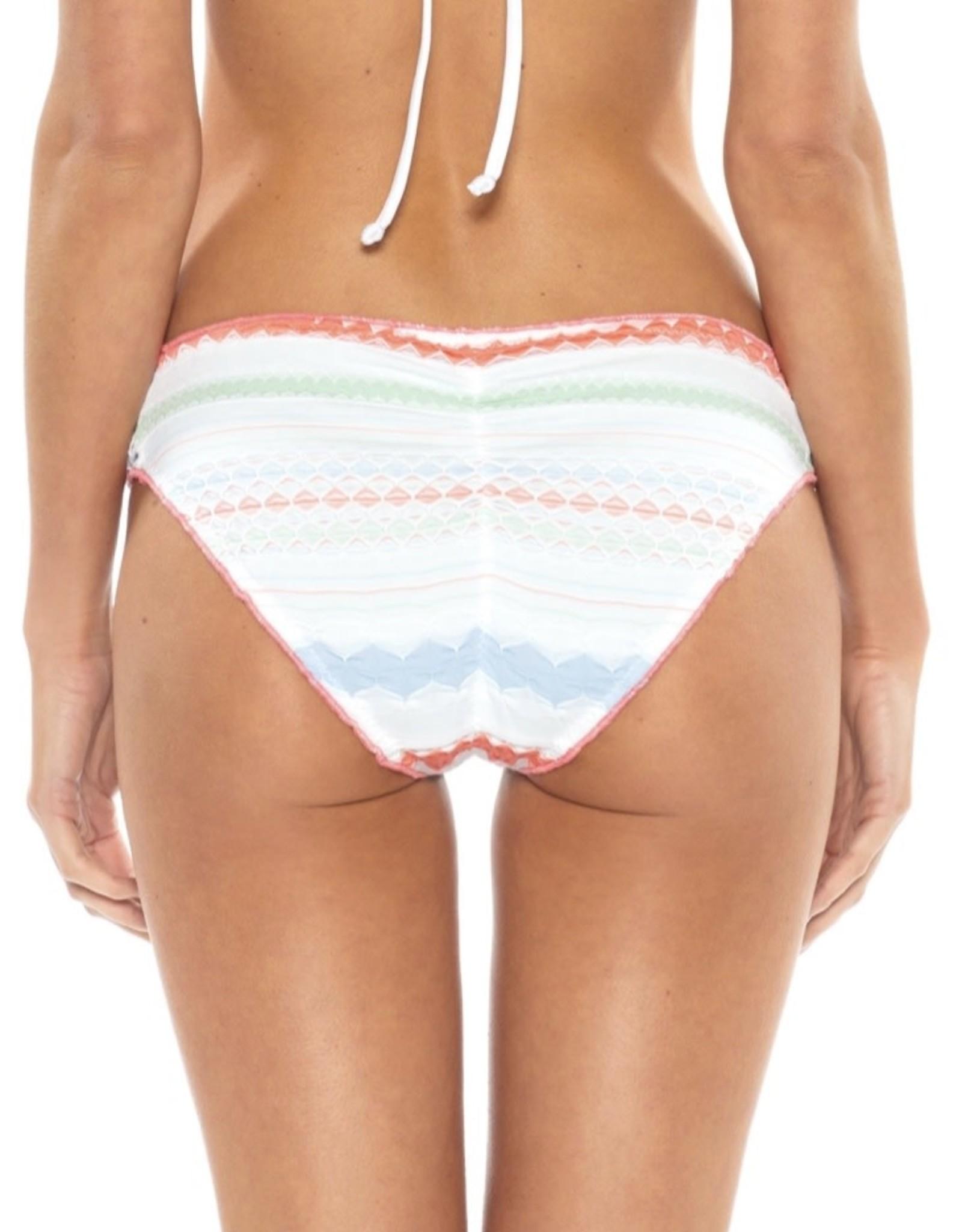Becca Becca Casablanca Side Tab Bikini Bottom Sz M