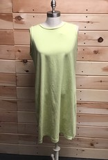 Eileen Fisher Eileen Fisher Stretch Knee Length Cotton Dress Sz M
