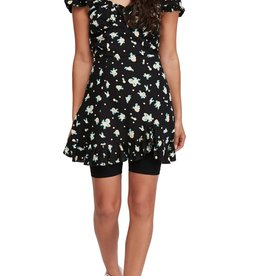 Free People Free People Like A Lady Print Minidress Sz XS