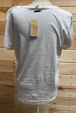 MICHAEL KORS Michael Kors White T-Shirt Size L