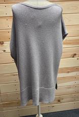 Lafayette 148 Lafayette 148 New York Grey S/S Sweater Size M/L