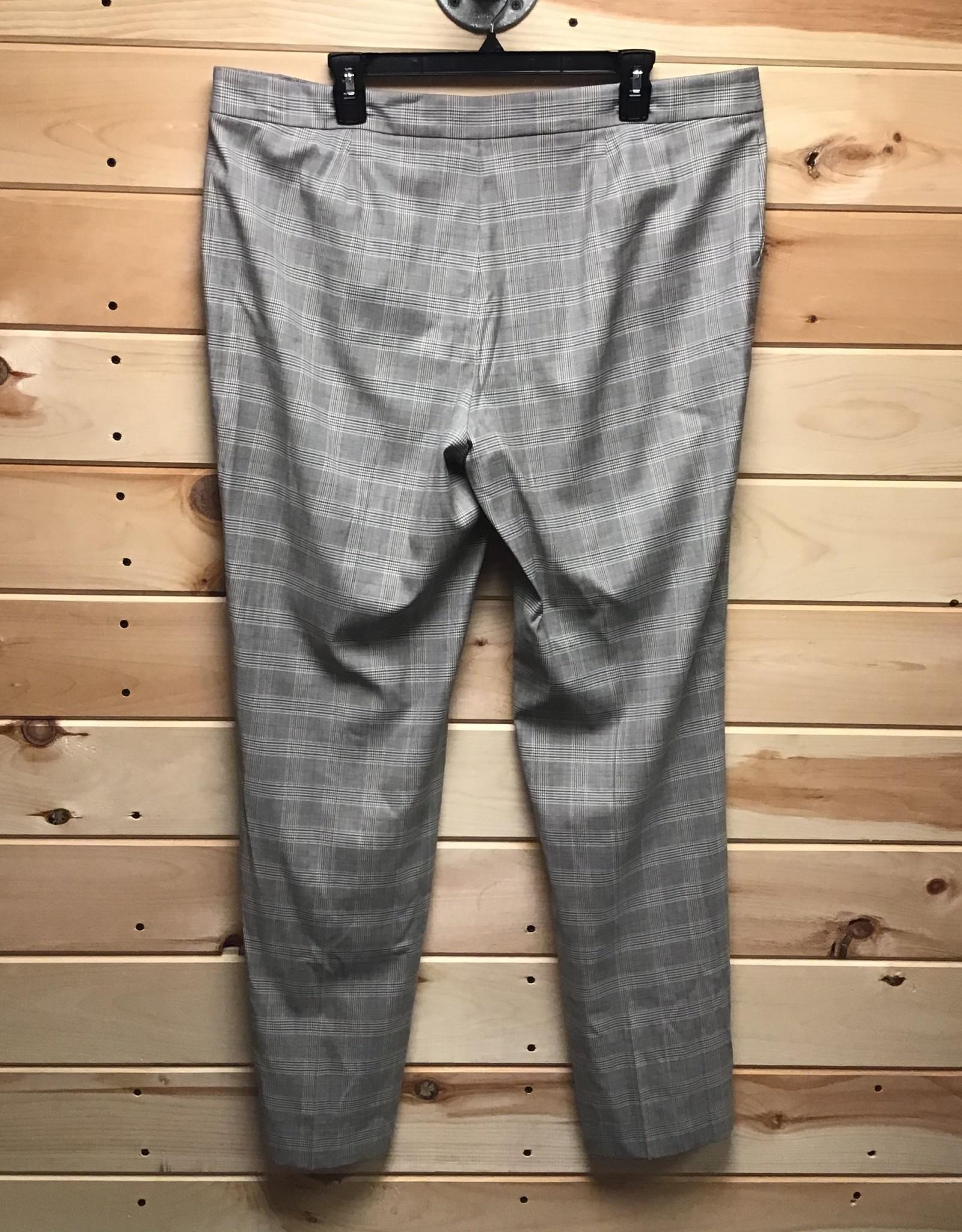 Lafayette 148 Lafayette 148 Manhattan Plaid Wool Bland Pants Sz 16