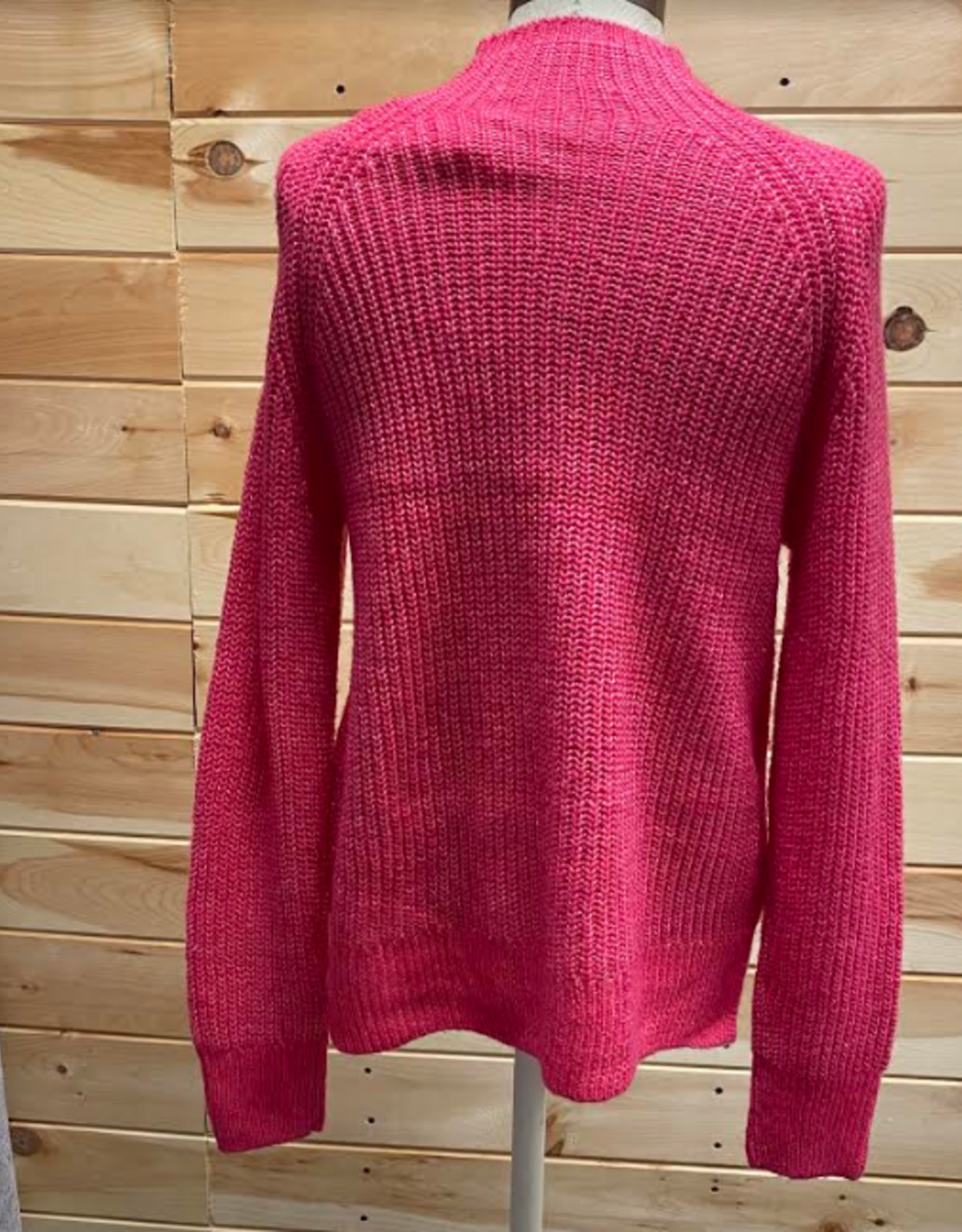 MICHAEL KORS Michael Kors Pink Turtle Neck Sweater Size Sm