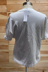 Topshop Topshop White T-shirt Size XS