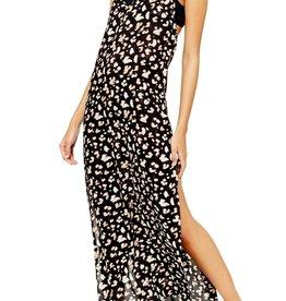 Topshop Topshop Printed Maxi Cover-Up Maxi Dress Sz 4-6