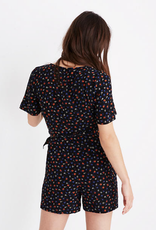 Madewell Madewell Wrao-Front Romper in Prairie Posies Size 6