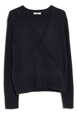 Madewell Madewell Faux Wrap Pullover Sweater