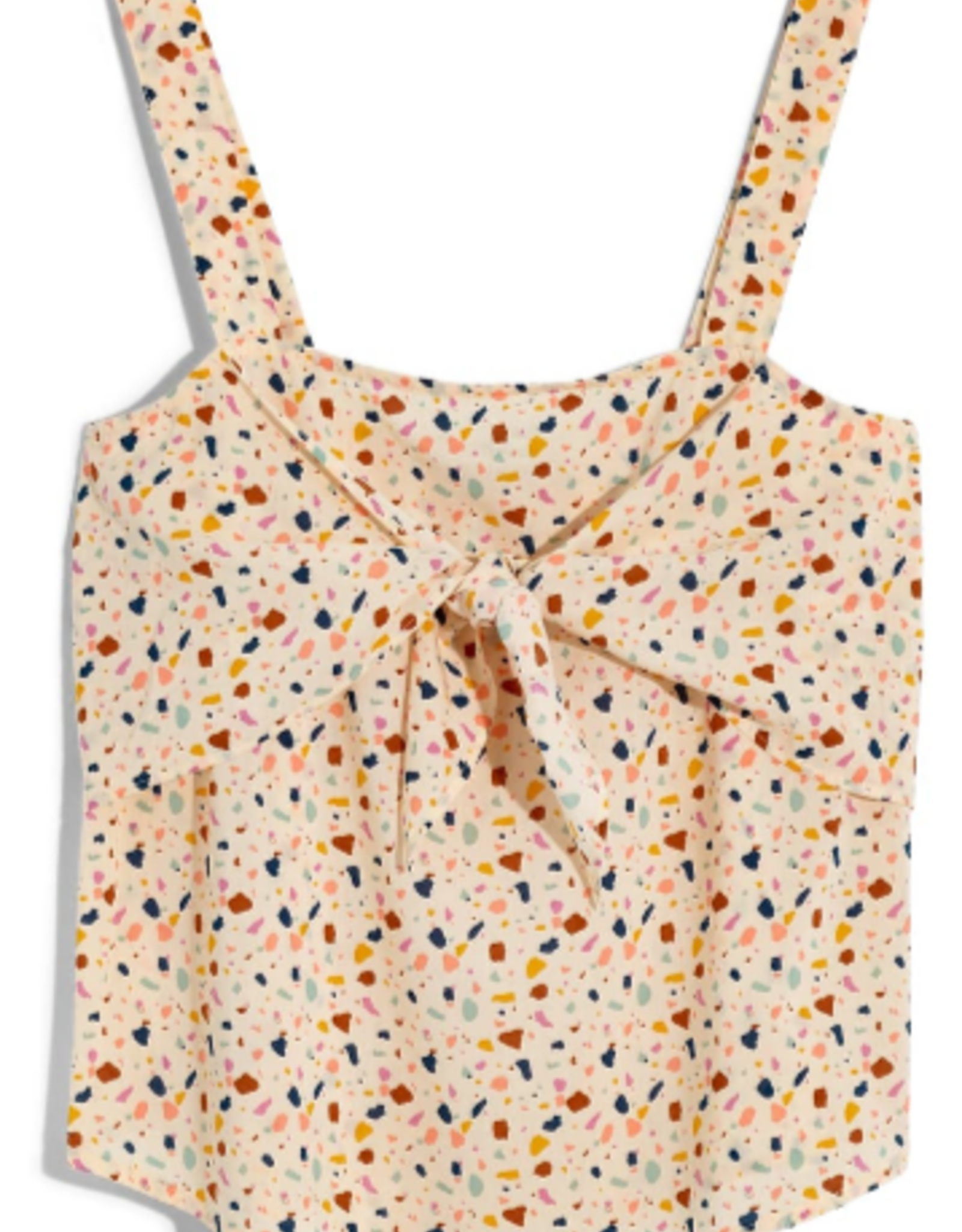 Madewell Madewell Terrazzo Tie Front Camisole