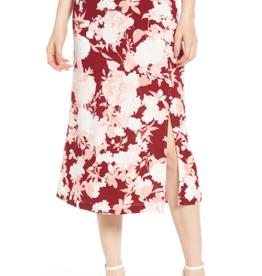 Chelsea28 Chelsea28 Floral Print Midi Skirt