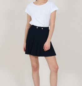 Molly Bracken Pleated Mini Skirt