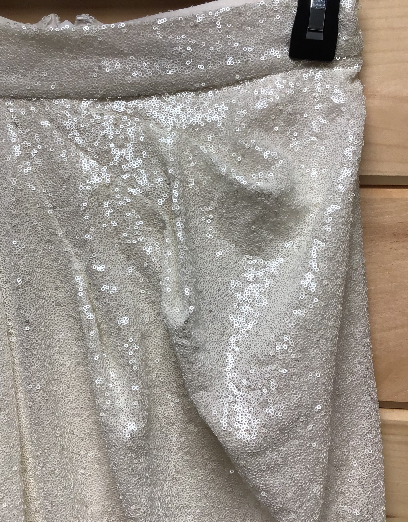 Katie May Katie May Wanna Party Micro Sequin Faux Wrap Skirt Sz S