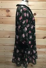 Alexia Admor Alexia Admor Drop Waist Floral Print Dress Sz M