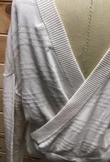 N:Philanthropy N: Philanthropy Checker Pullover Ivory Sweat Sz L