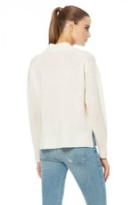 360 Cashmere 360 Cashmere Embroidered Skull Sweater Sz M