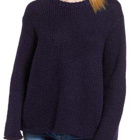 Velvet Velvet Wool Alpaca Blend Crew Neck Sweater Sz S