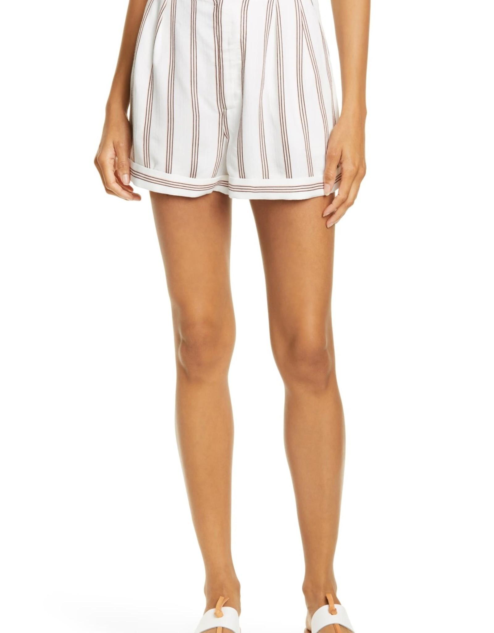 Joie Joie Carvel Stripe Shorts Sz 10