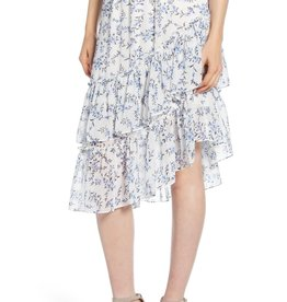 1 STATE 1.STATE Tiered Asymmetrical Skirt