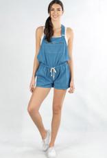 Love Stitch PM Mini Striped Short Overall