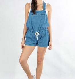 Love Stitch PM Mini Striped Short Overall