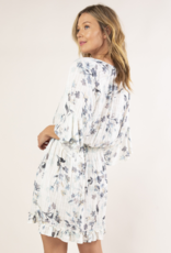 Love Stitch PM Elbow Sleeve Smocked Waist Dress