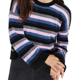 Madewell Madewell Cardiff Stripe Crewneck Sweater Size XL