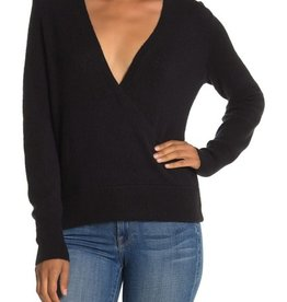 Madewell Madewell Faux Wrap Pullover Sweater Size L