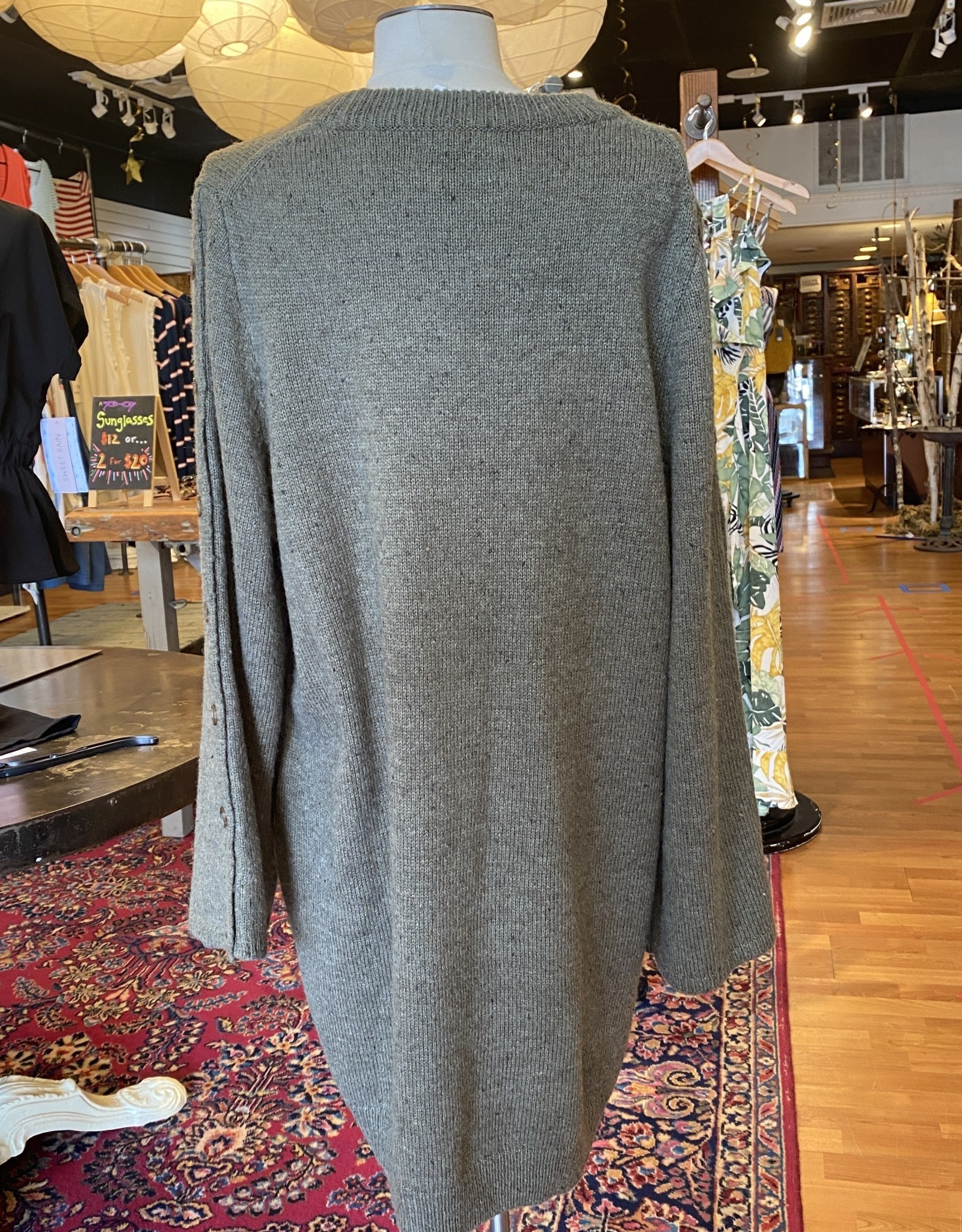 Madewell Madewell Donegal Sweater Dress Size 2X