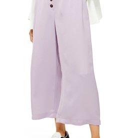 Topshop Topshop Coco Satin Wide Leg Trousers Sz 4