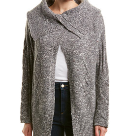 James Perse James Perse Womens Wool Away Cable Cardigan Size 2