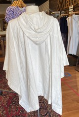 James Perse James Perse White Linen Poncho Size 2