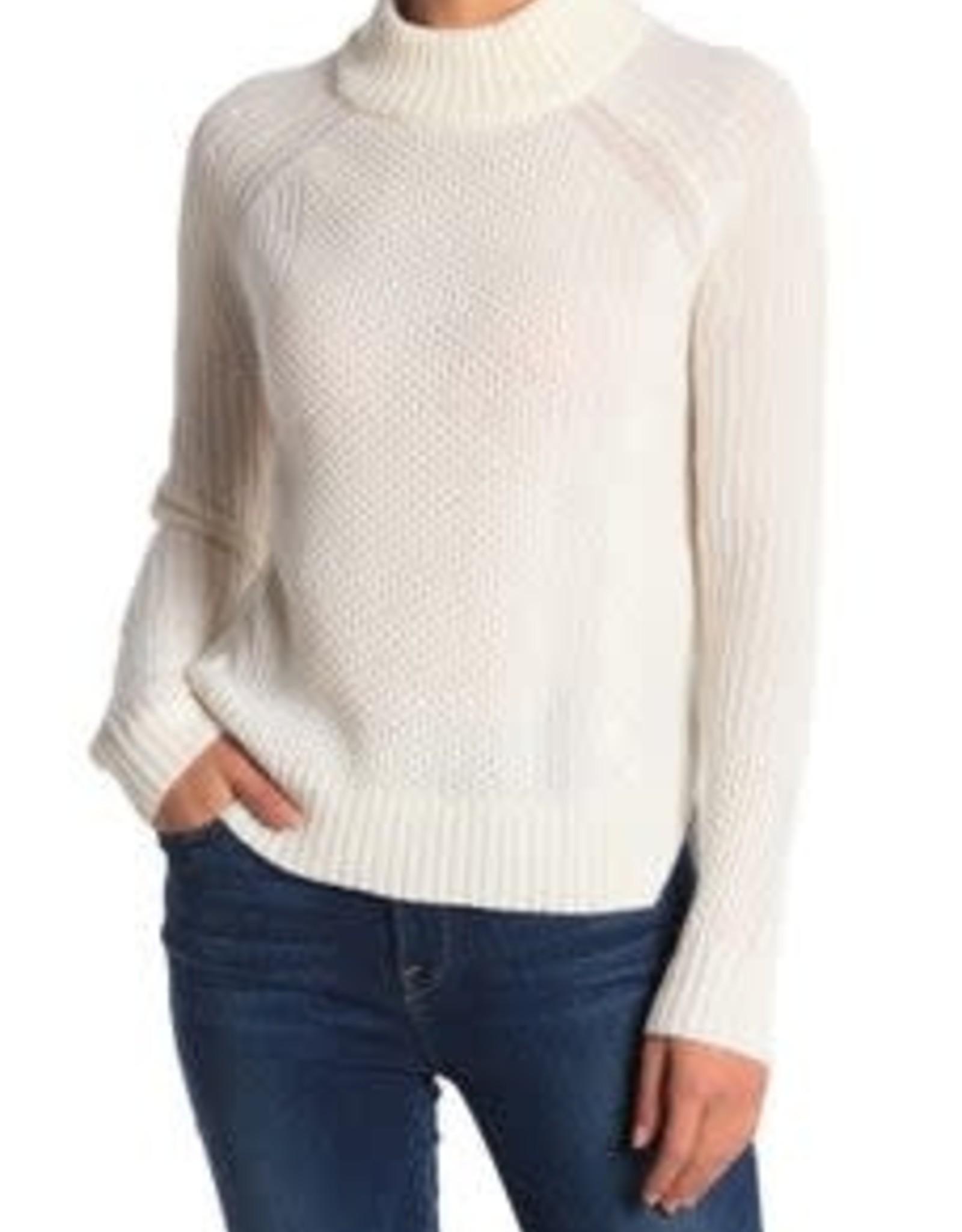 Griffen Cashmere Griffin Cashmere Ivory Knit Sweater Sz M
