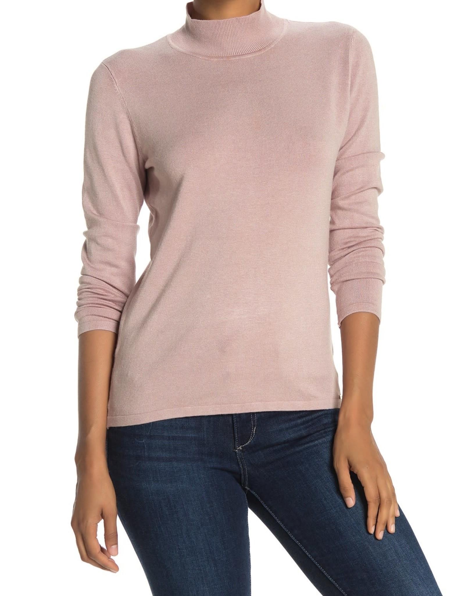 Tahari Tahari Mock Neck L/S Sweater Sz M