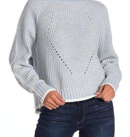 John + Jenn J+J Multi Stitch Pullover Sweater Sz XL