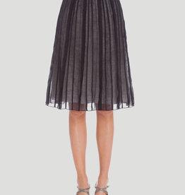 Nic + Zoe Nic + Zoe Batiste Flirt Skirt Onyx Sz 16