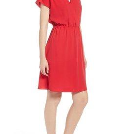Halogen Halogen Faux Wrap Dress Size M