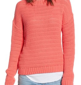 Treasure&Bond Treasure & Bond Pointelle Sweater