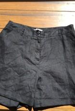 Chelsea28 Chelsea28 Linen Cuff Shorts Black Sz 14