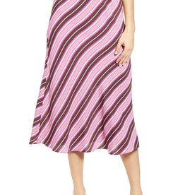Leith Leith Bias Cut Midi Skirt